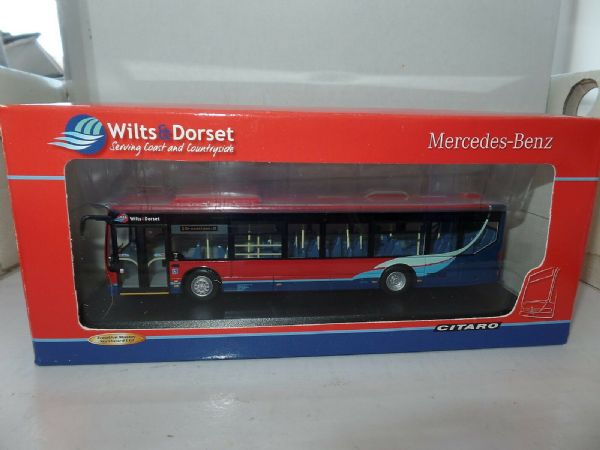 CMNL UKBUS5011 Mercedes Citaro Rigid Bus Wilts & Dorset Broadstone MIMB
